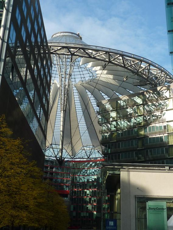 Toit du Sony Center
