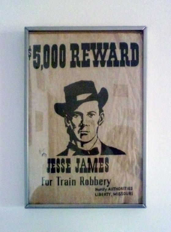 REWARD ! Jesse James
