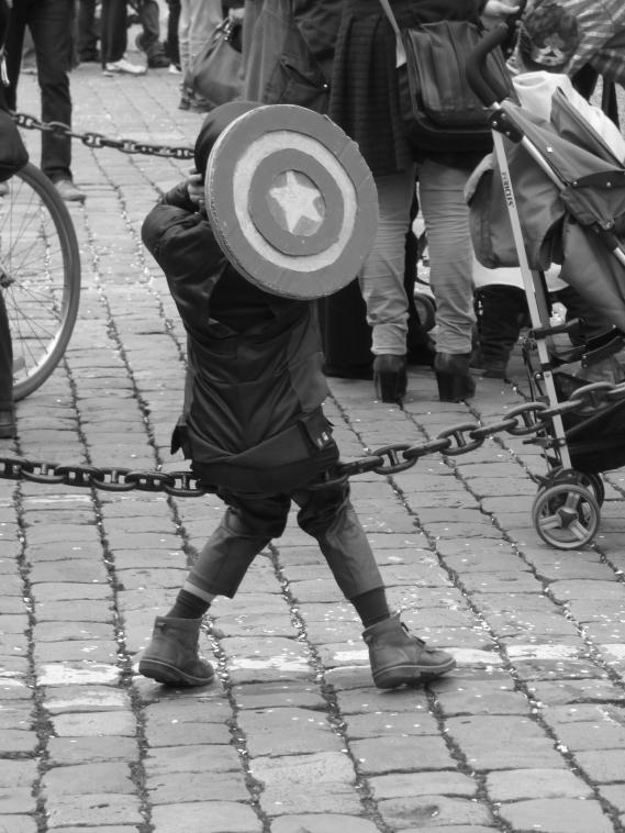 Reproduction d'images: Captain America